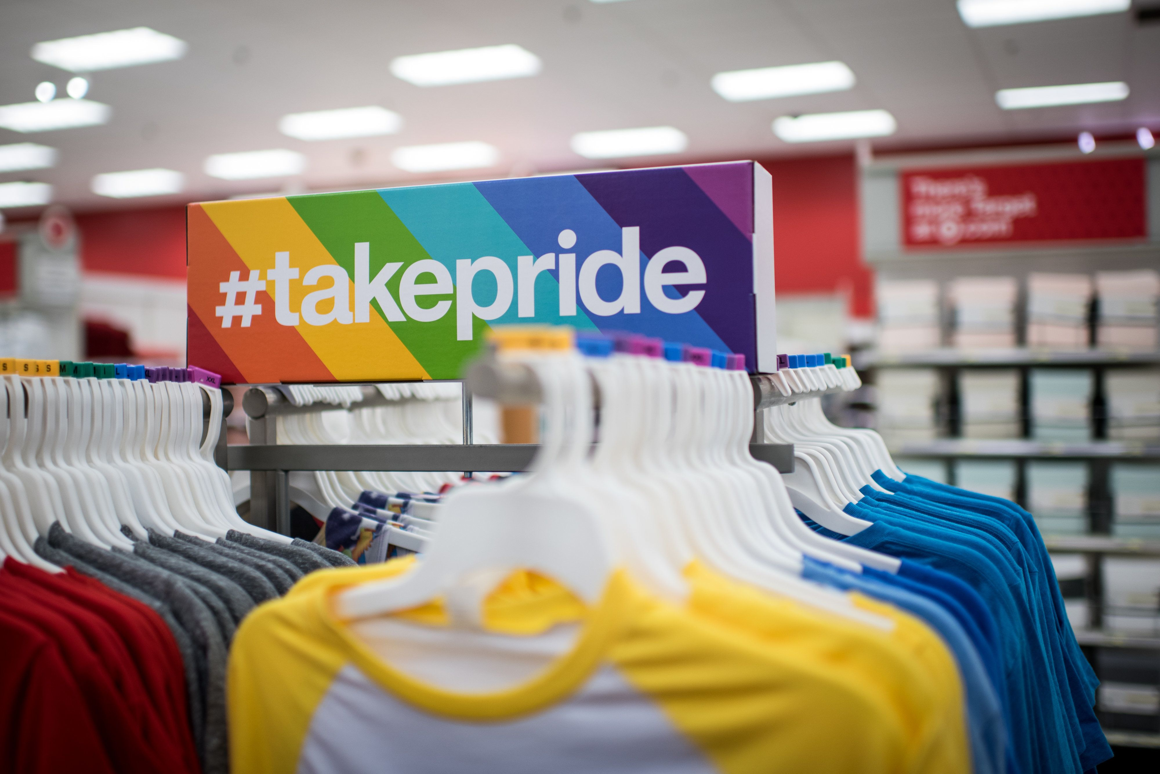 Target featured a special line of LGBT pride-themed merchandise ahead of Pride month. The retailer has come un