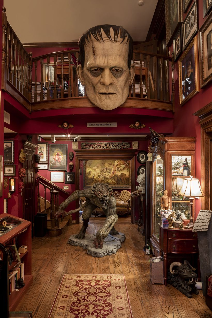 Installation photo in&nbsp;the exhibition&nbsp;<i>Guillermo del Toro: At Home with Monsters&nbsp;</i>at the Los Angeles Count