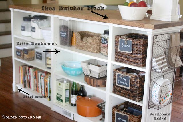 diy industrial kitchen island curbly design best ikea hacks from around the web huffpost