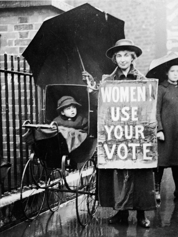 "Good luck telling this suffragette to ditch the vote and ""<a href=""http://mediamatters.org/research/2014/10/21/right-wing-med"