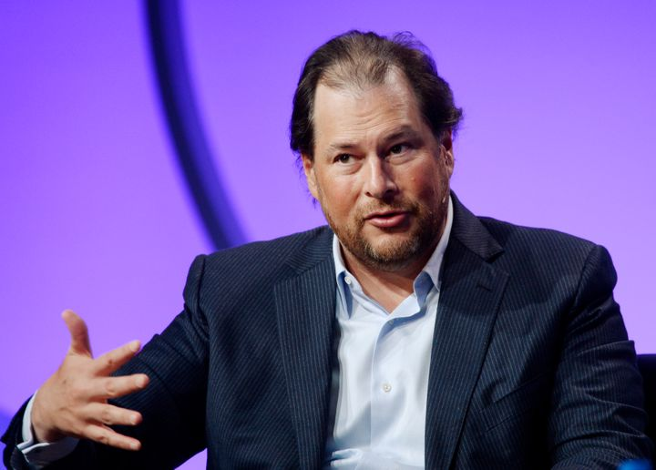 Salesforce CEO Marc Benioff has been a vocal advocate for women and LGBTQ people.