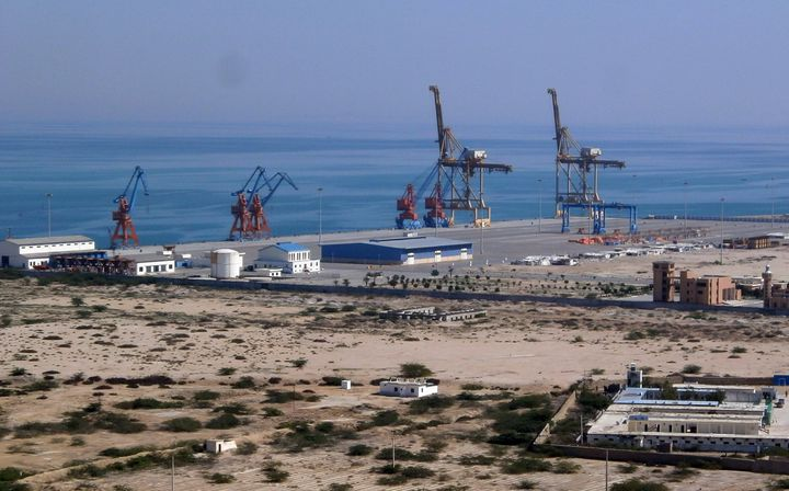 """Linking up the Gwadar port with China through the rest of the country will vastly enhance our infrastructure,"" Aziz told The"