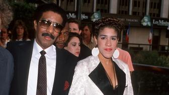 Richard Pryor and Rain Pryor at the Century Plaza Hotel in Century City, California (Photo by Jim Smeal/WireImage)