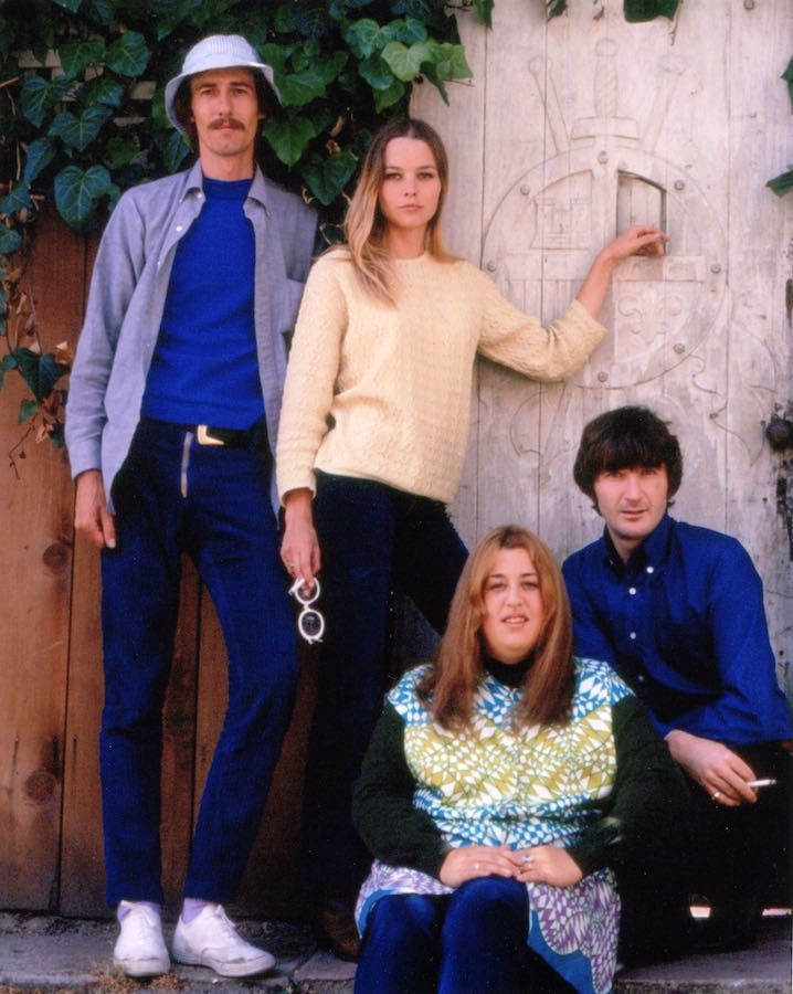 The Mamas & The Papas: John Phillips, Michelle Phillips, Cass Elliot and Denny Doherty