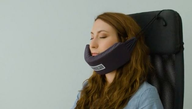 Nodpod Chin Hammock Provides A Comfy Way To Snooze On