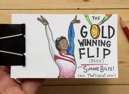 Watch Gymnast Simone Biles Flipping To Olympic Glory In Mesmerising Flipbook