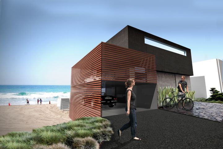 Meis Architects' design for a new boxy exterior.