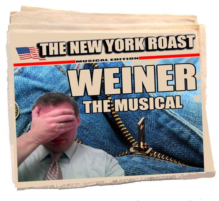 Promotional Image for <i>Weiner the Musical</i><i>, </i>an original stage production by Beth Karp
