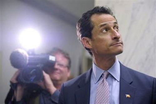 """Weiner, by his own admission in the <a href=""""http://www.imdb.com/title/tt5278596/"""" target=""""_blank"""">award-winning documentary"""