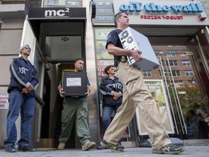 On Aug. 25, 2015, law enforcement officers seized evidence from the Manhattan offices of Rentboy.com.