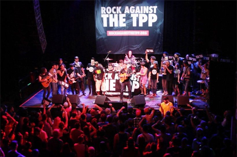 """<a href=""""rockagainstthetpp.org"""" target=""""_blank"""">Rock Against the TPP</a> concert epic finale in Denver featuring Tom Morello"""