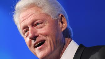 WASHINGTON, DC - OCTOBER 25:  Former U.S. president Bill Clinton  speaks at the 18th Annual HRC National Dinner at The Walter E. Washington Convention Center on October 25, 2014 in Washington, DC.  (Photo by Paul Morigi/Getty Images)