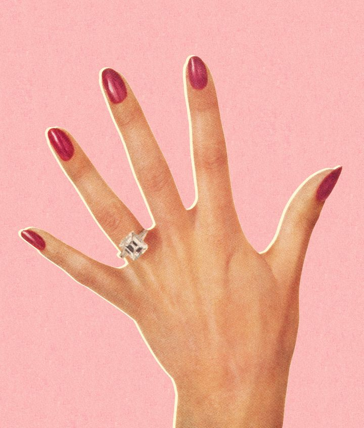 What Hand Wedding Ring.What I Did After Finally Removing My Wedding Ring Huffpost Life