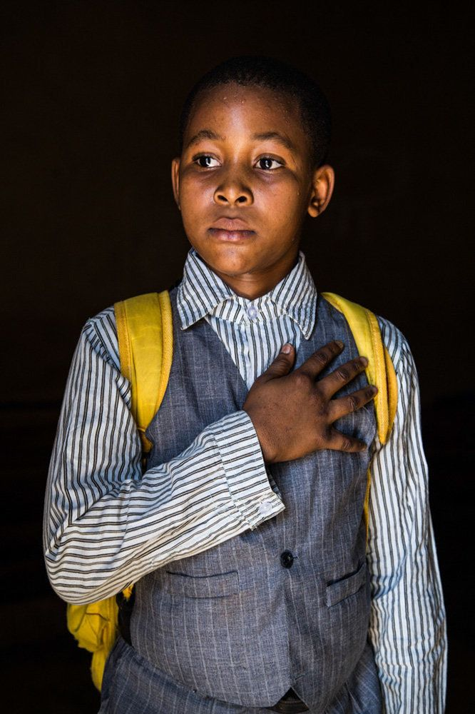 "<strong>David, Mali,&nbsp;future president:</strong>&nbsp;""I want to be the president of Mali because it is a good job and al"