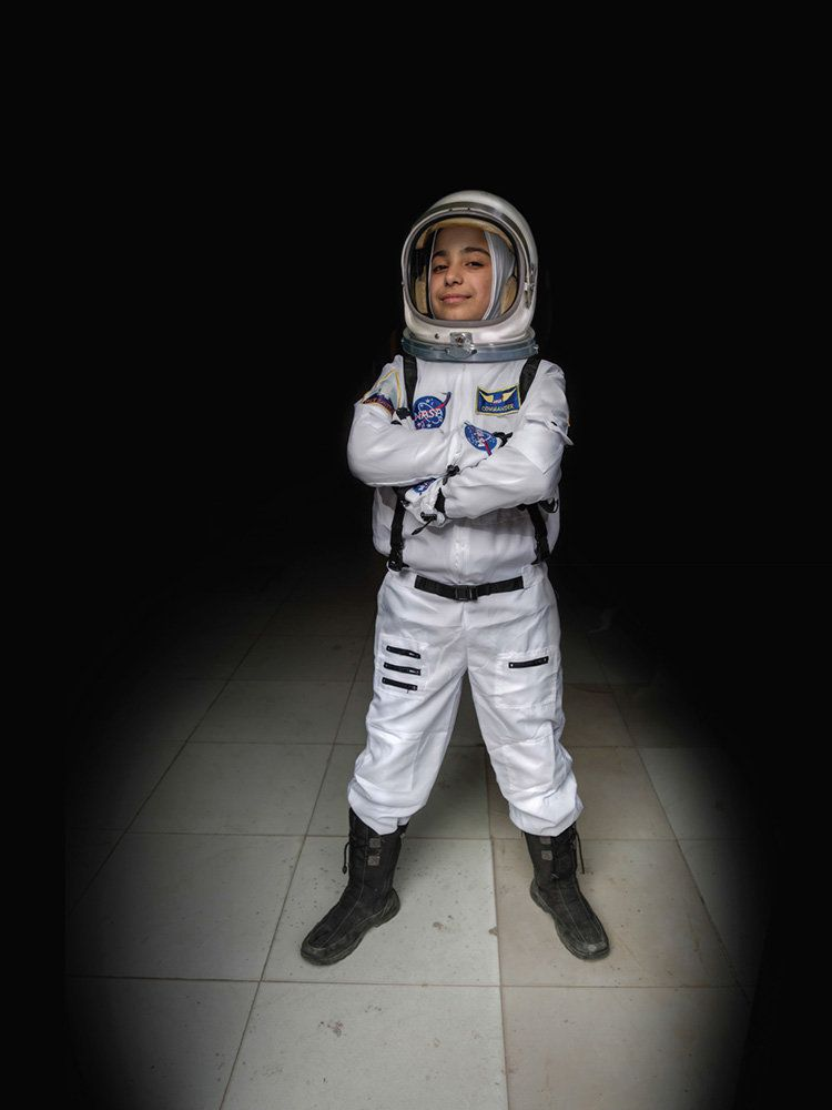 "<strong>Haja, Jordan,&nbsp;future astronaut:</strong>&nbsp;""€œEver since we studied the solar system in primary school, I hav"