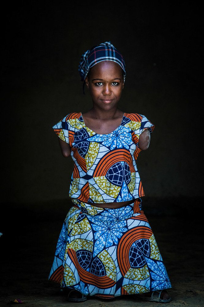 "<strong>Aicha, Niger,&nbsp;future lawyer</strong>: ""I come from Damassak in Nigeria. I would like to become a lawyer so I can"