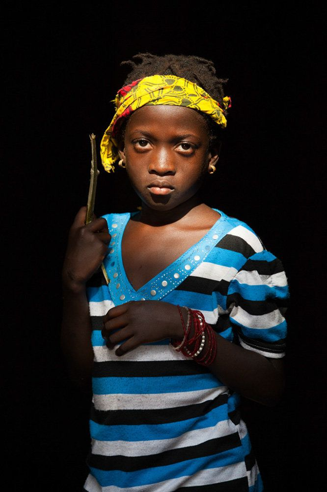 "<strong>Mimahawa, Guinea,&nbsp;future policewoman:</strong>&nbsp;""When I will be a grown-up I want to be a policewoman to cat"