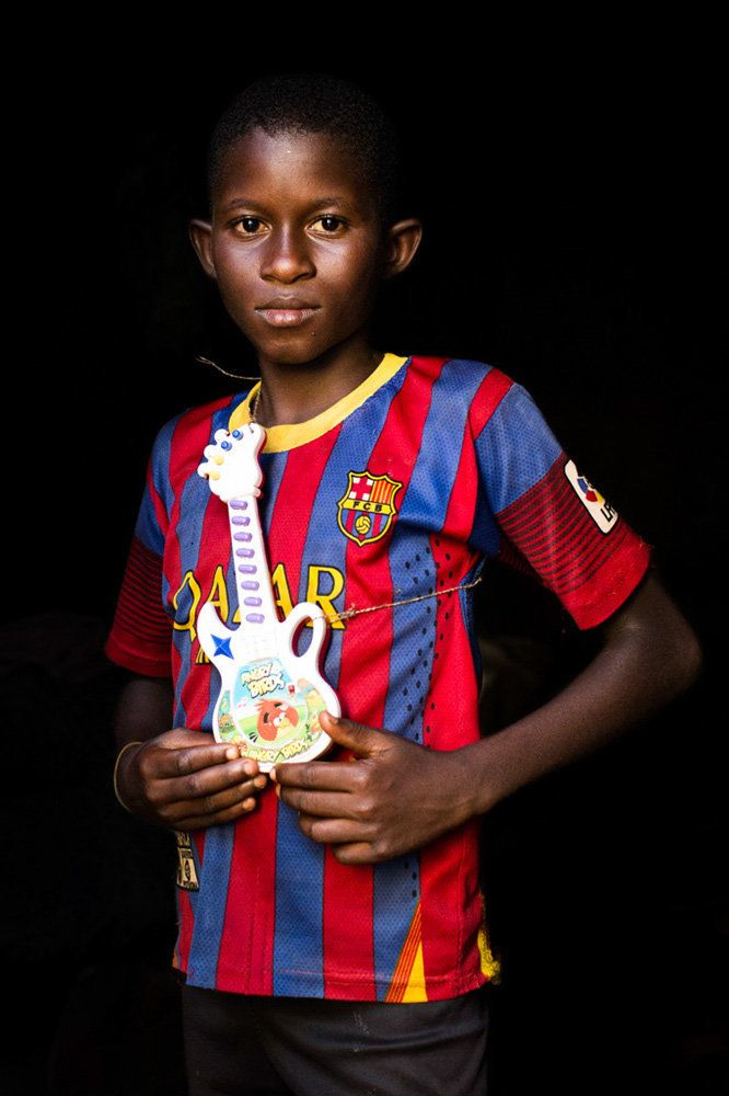 "<strong>Mahamat, Central African Republic,&nbsp;future football player or musician:</strong><strong>&nbsp;</strong>""One day,"