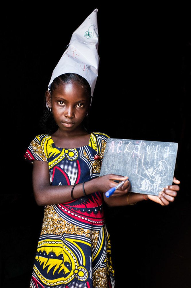 "<strong>Awa, Central African Republic,&nbsp;future teacher:</strong>&nbsp;""One day, I will become a teacher."""