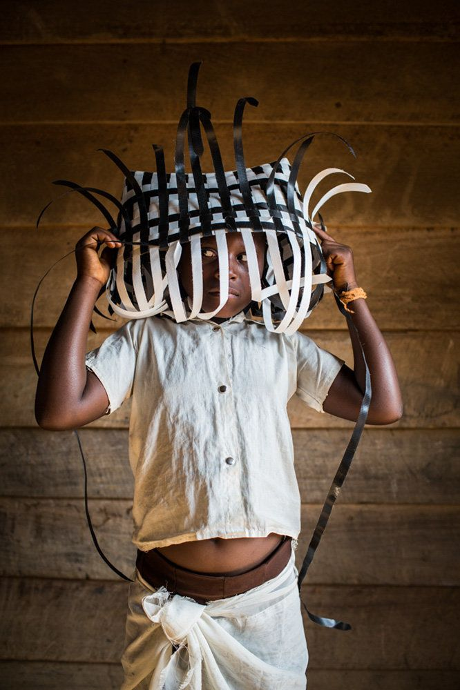 "<strong>Chandi, Democratic Republic of the Congo,&nbsp;future basket weaver:</strong>&nbsp;""I would like to learn how to make"
