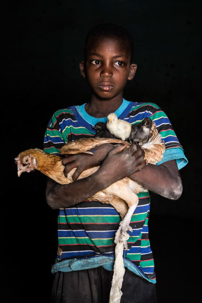 "<strong>Issouf, Mali,&nbsp;future&nbsp;chicken farmer:</strong>&nbsp;""I want to be a chicken farmer like my father, and also"