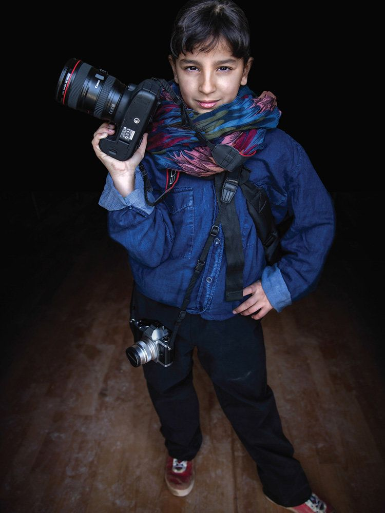 "<strong>Muntaha, Jordan,&nbsp;future photographer:</strong>&nbsp;""€œSince I was a young girl I loved taking people's photogra"