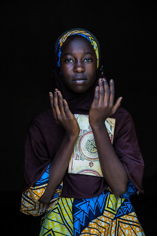 "<strong>Fatimata, Niger,&nbsp;future teacher:</strong>&nbsp;""One day, I will be a teacher in an Islamic school to help people"