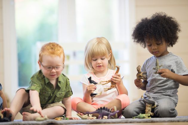 how toddlers learn to share huffpost uk