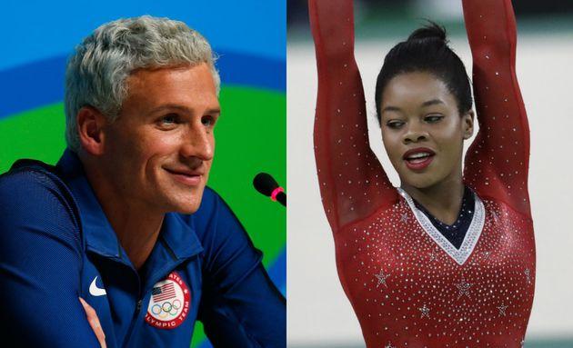 Ryan Lochteand Gabby Douglas: A tale of two Olympic