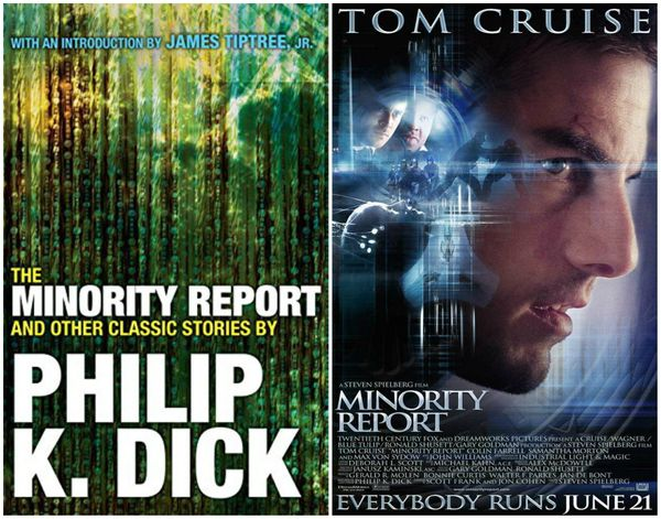 "What's better than ""Minority Report"" starring Tom Cruise? ""Minority Report"" <i>without</i> Tom Cruise. Dick's unsettling"