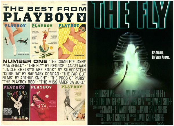 """The Fly"" is an objectively horrifying movie, and it's based on a disturbing short story originally published in Playboy. The"