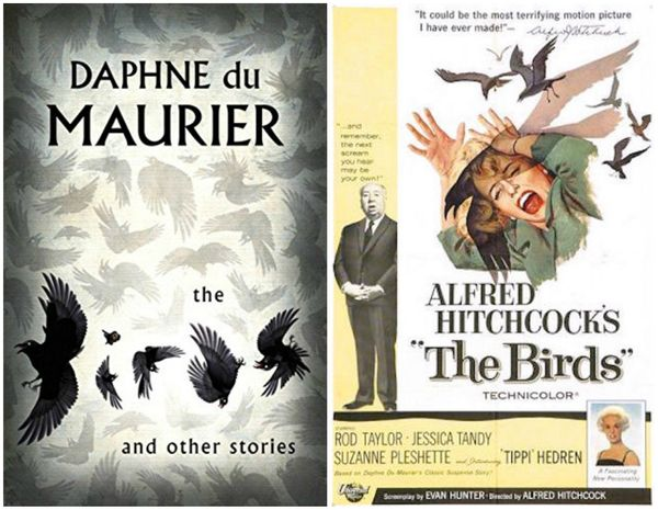 Daphne du Maurier and Alfred Hitchcock are like the literary and cinematic sides of the same terrifying artistic coin, so whe