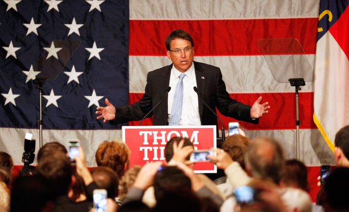 Gov. Pat McCrory (R) has taken a hardline approach to North Carolina's broad swath of voting restrictions, which an appeals c