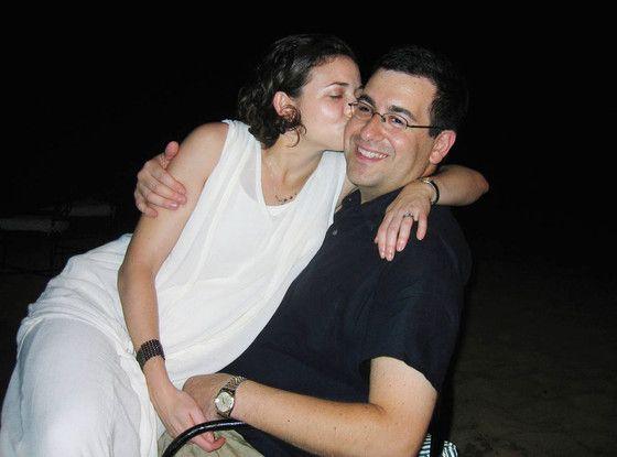 Sandberg and husband Dave Goldberg.