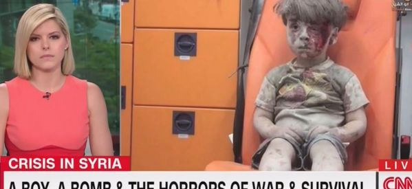 CNN's Kate Bolduan Starts To Cry Detailing Story Of Bloodied Syrian Child Omran Daqneesh