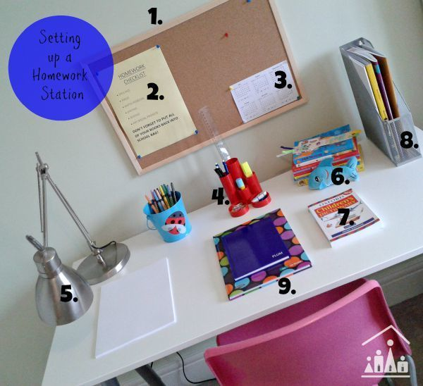 """<a href=""""http://www.craftykidsathome.com/2015/08/setting-up-a-homework-station.html"""" target=""""_blank"""">image source: craftykidsathome.com/</a>"""