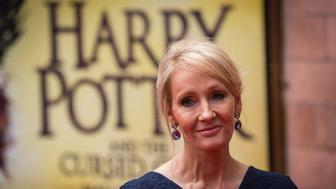 LONDON, ENGLAND - JULY 30:  J. K. Rowling attends the press preview of 'Harry Potter & The Cursed Child' at Palace Theatre on July 30, 2016 in London, England. Harry Potter and the Cursed Child, is a two-part West End stage play written by Jack Thorne based on an original new story by Thorne, J.K. Rowling and John Tiffany.  (Photo by Rob Stothard/Getty Images)