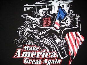 A Trump Campaign T-Shirt