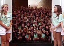 This Sorority Video Is Hands Down The Most Terrifying Thing You'll See This Year