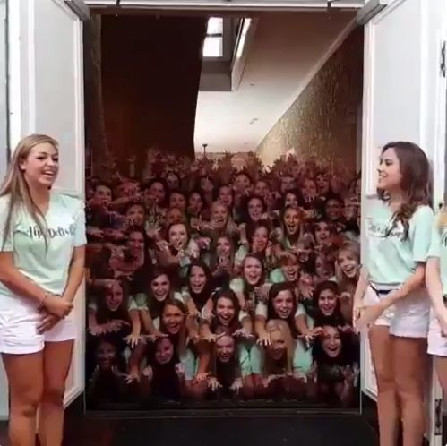 This Sorority Video Is Hands Down The Most Terrifying Thing You'll See This