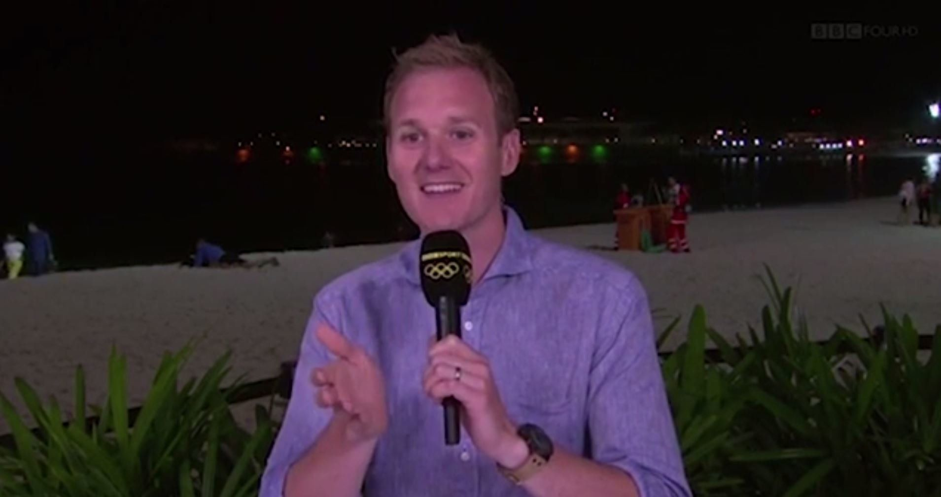 BBC Presenter Struggles To Maintain Olympics Coverage As Couple 'Have Sex' Behind