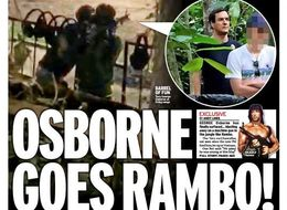 George Osborne Tweeted About His Rambo Front Page And Everyone Is Ripping Him For It