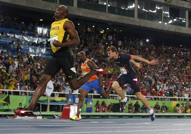 Usain Bolt on cloud nine after completing 'triple triple' Olympic mission