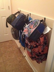 """<a href=""""http://www.chaos2peace.com/easy-backpack-storage/"""" target=""""_blank"""">image source: chaos2peace.com</a>"""