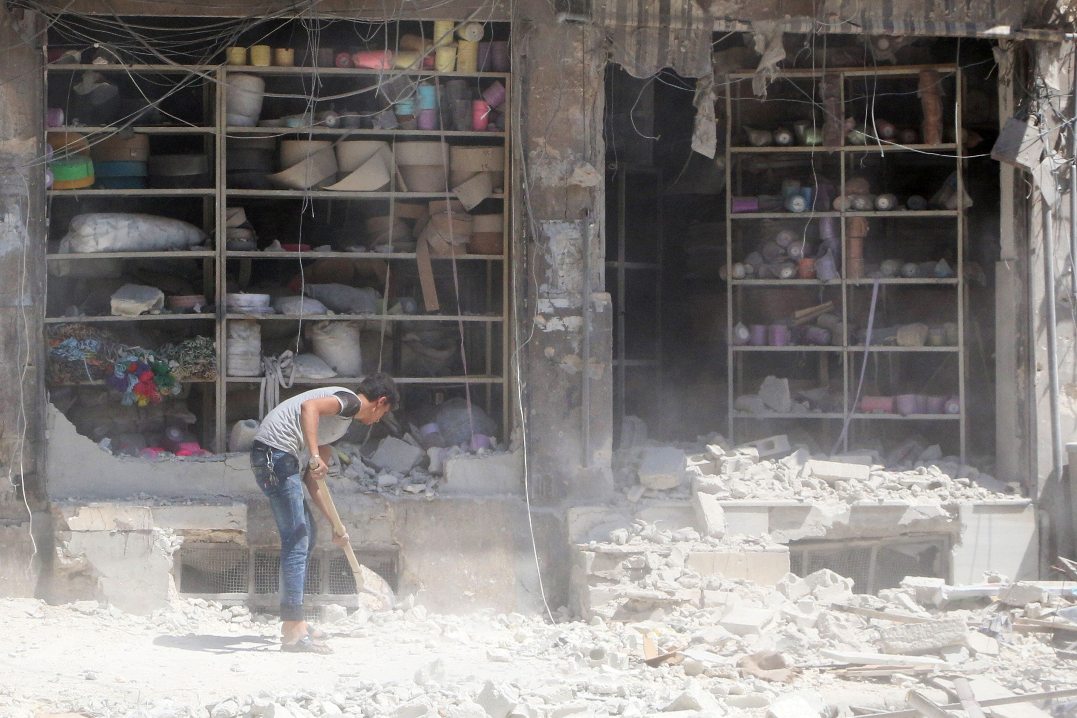 """Syrian rebels are welcominga proposed weekly ceasefire to """"staunch the blood of Syrians"""" and allow """"the arrival of aid"""