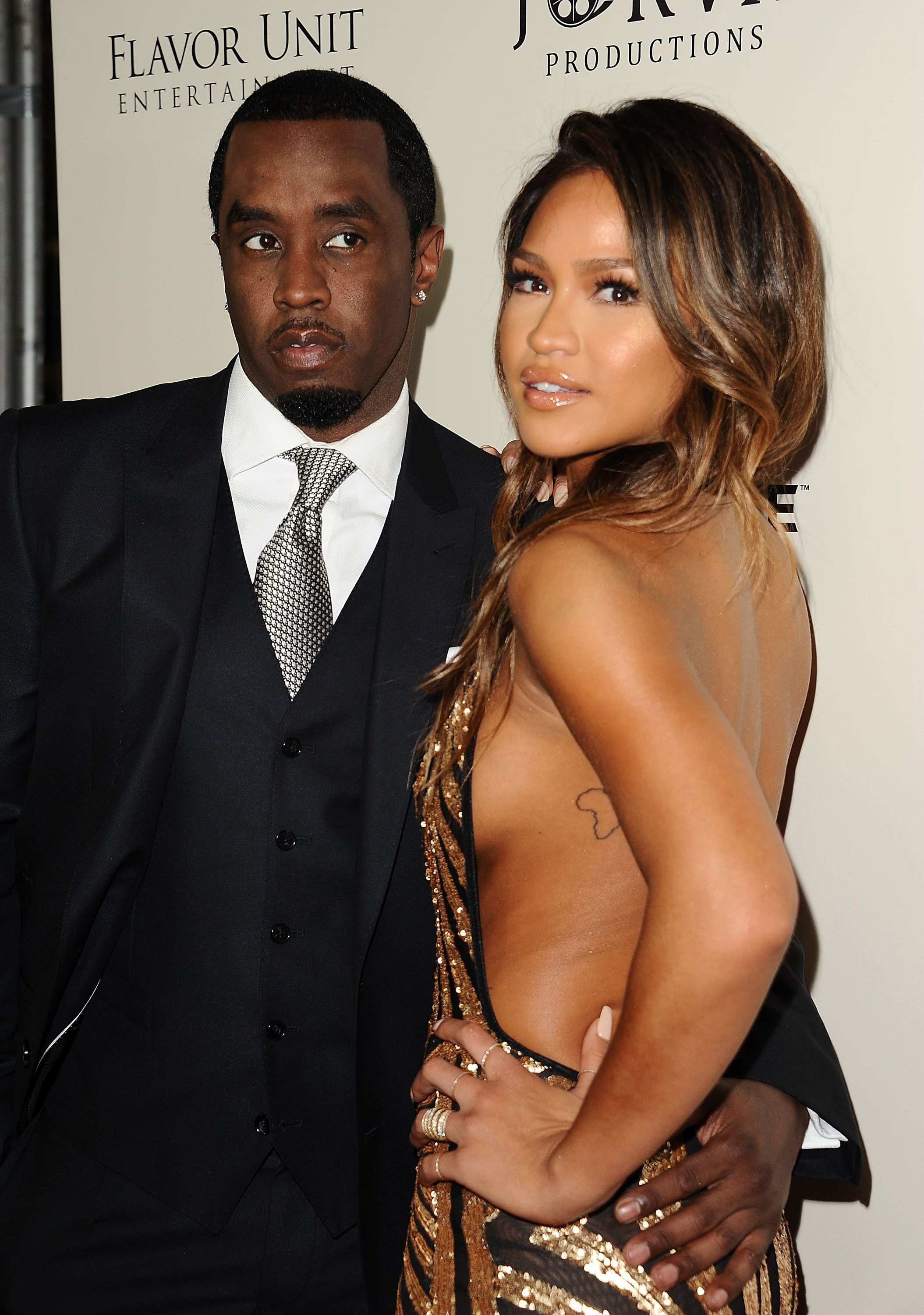 Sean Combs and Cassie Ventura on March 7 in Hollywood.