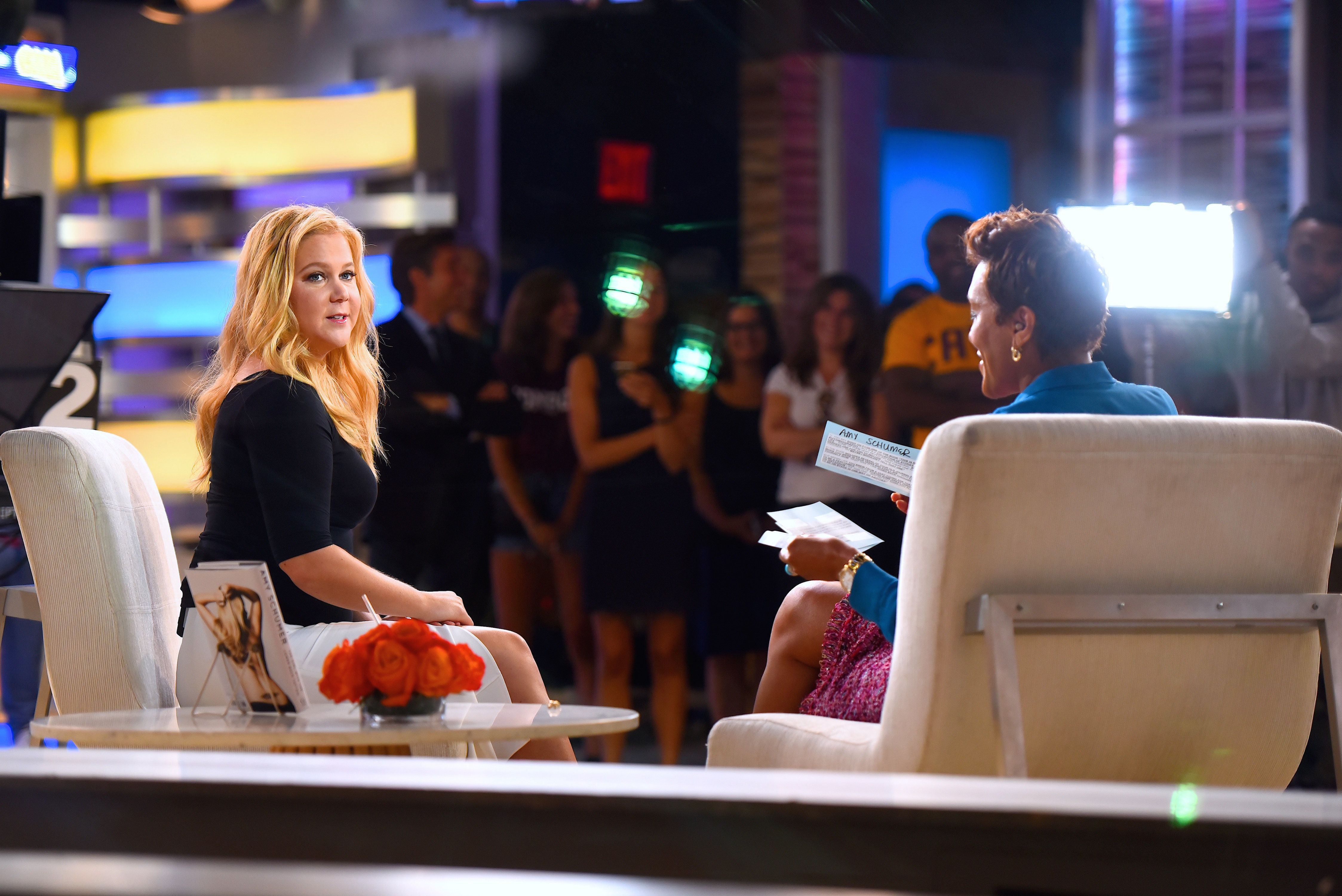 Amy Schumer on Good Morning America on August 15.