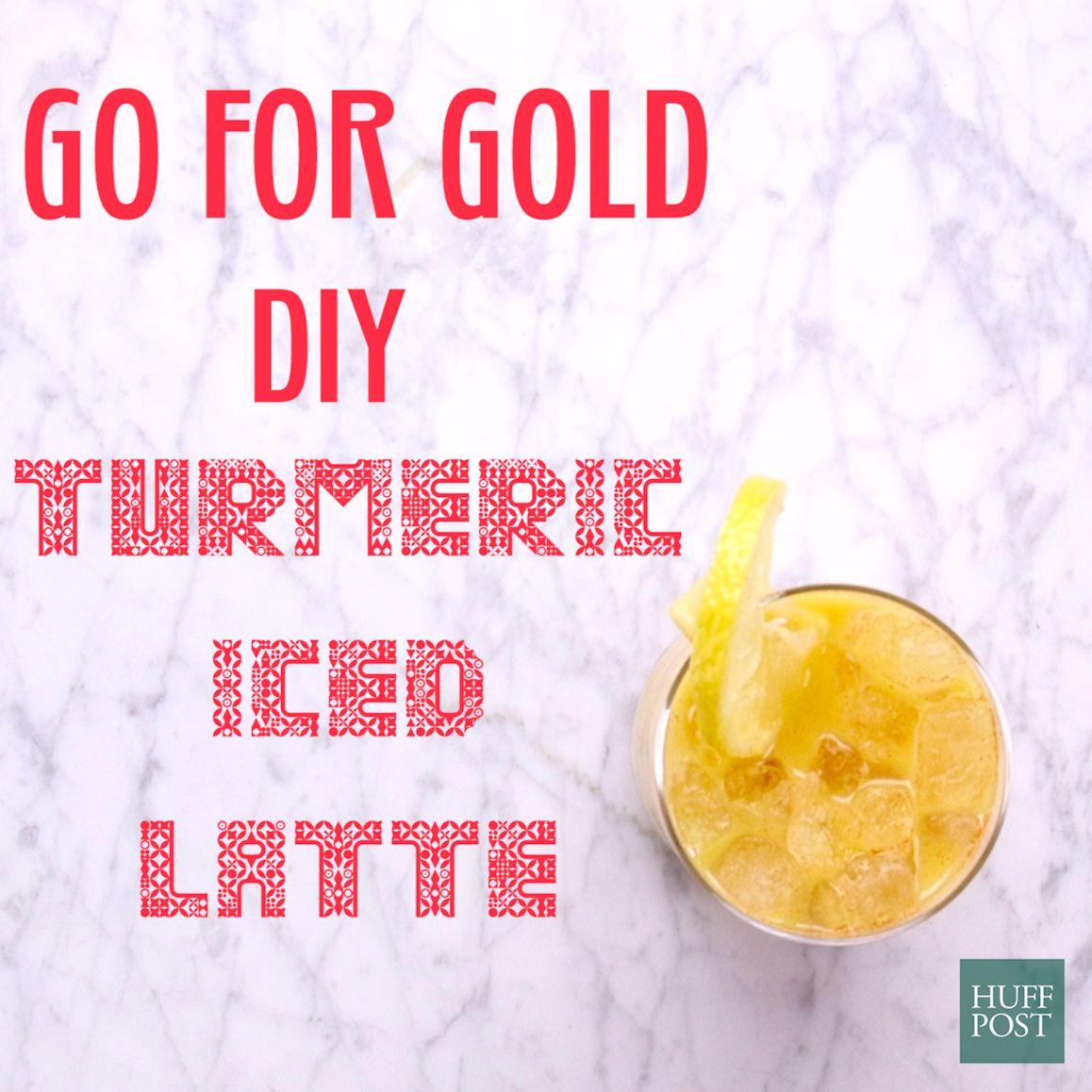 Turmeric Iced Latte