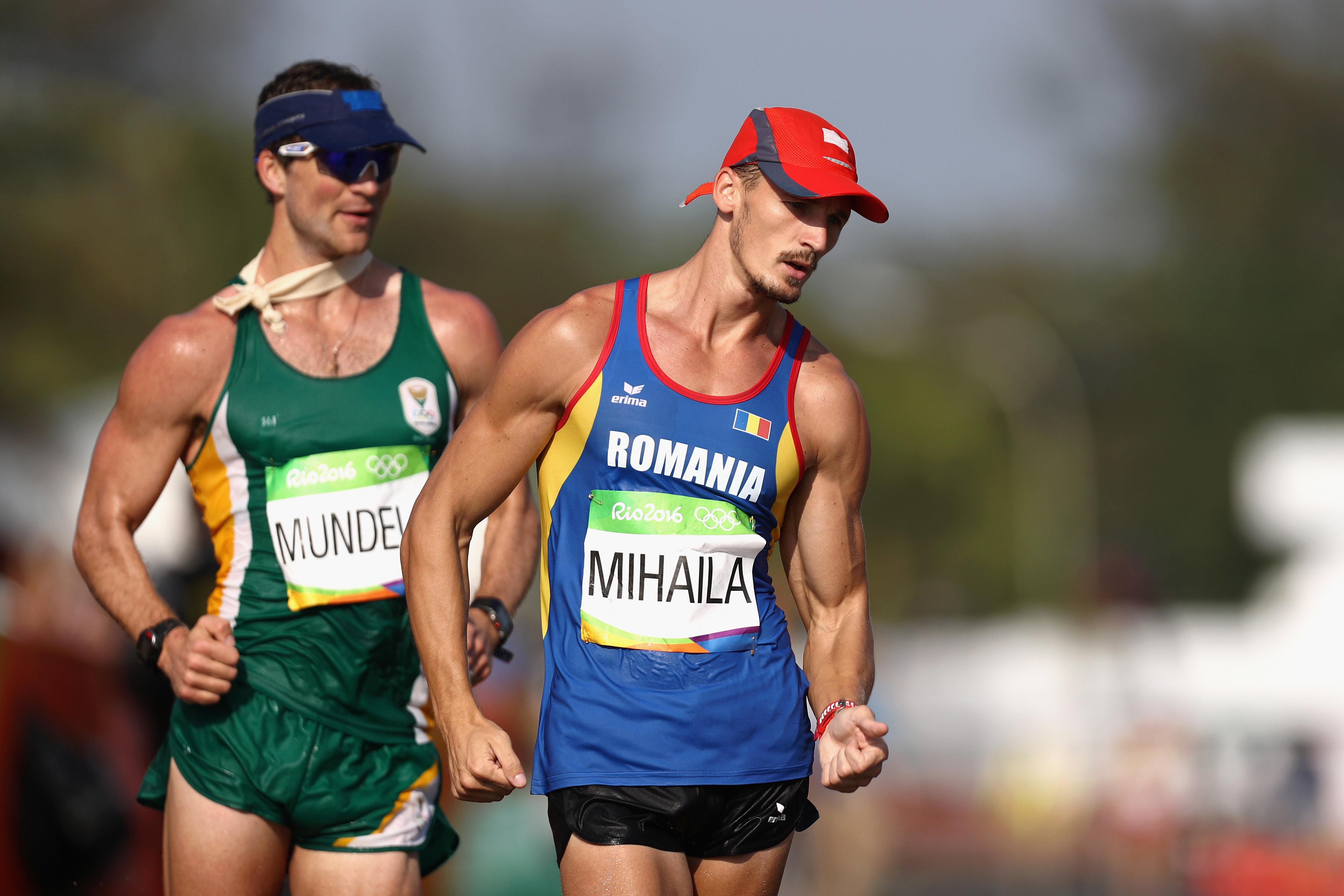 The men's 50km race walk was, um, run earlier on Friday.