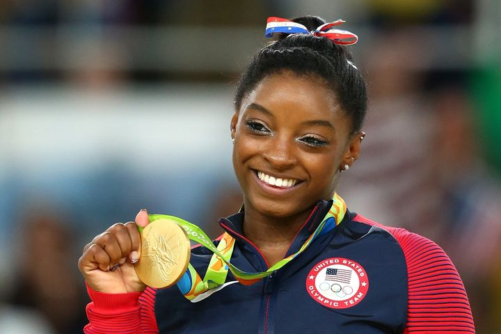 Simone Biles, gymnastics legend, is now the proud owner of four Olympic gold medals.